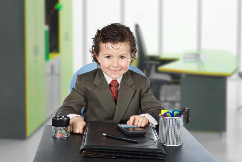 Kids on your Company Payroll